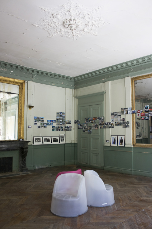 one exhibition space