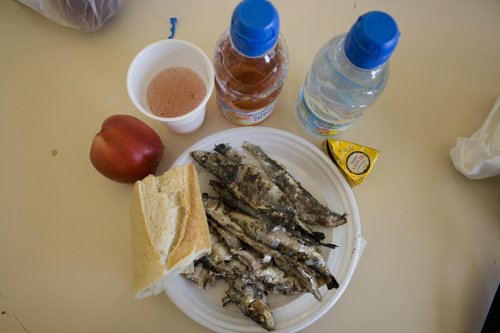 sardinade platter