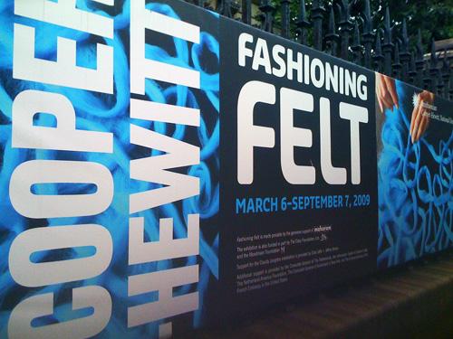 felt exhibit