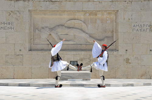 Athens_Changing of the Guard-Evzones