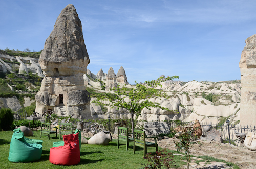 Göreme Valley_Göreme Suites hotel view