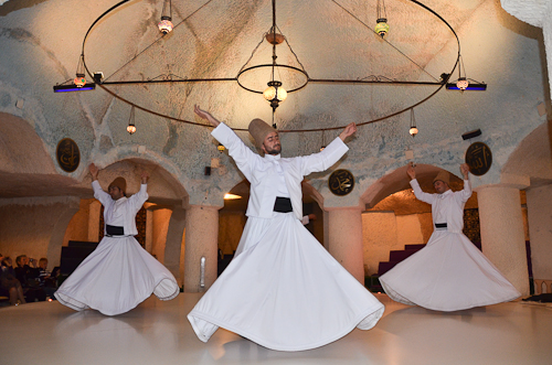 Cappadocia-whirling dervish ceremony