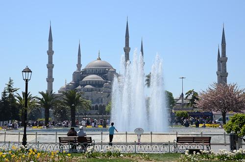 Istanbul_Blue Mosque exterior