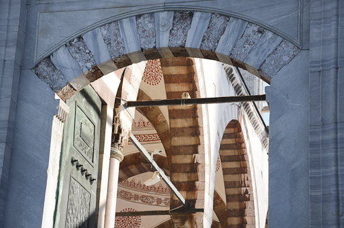 Istanbul_mosque archway