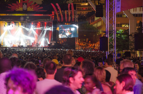 Montreal International Jazz Festival 2013_big stage