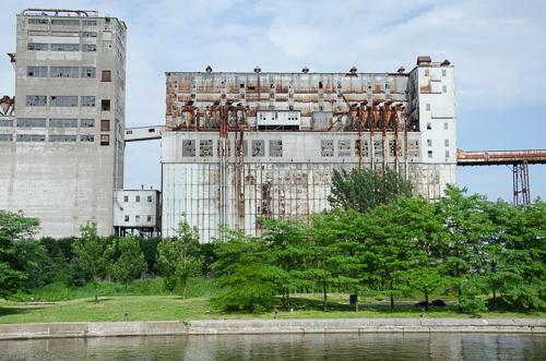 Grain silos, Vieux-Port de Montréal