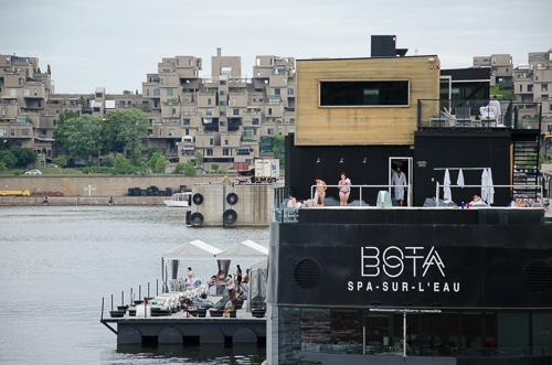Bota Bota spa-sur-l'eau