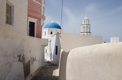 The village of Pyrgos