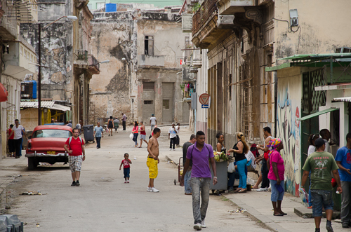 Havana_street activity