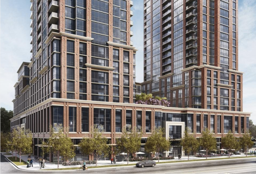 Rendering of Harmony Village Sheppard, image courtesy of City Core Developments