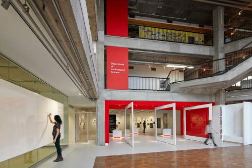 Paul H. Cocker Architecture Gallery, Department of Architectural Science, Ryerson University. Photo by Shai Gil.