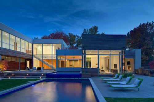 Shaker Heights Private Residence, Ohio. Dimit Architects. Photo by Brad Feinknopf.