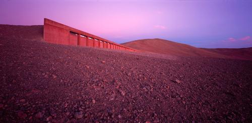 Hotel Eso, Atacama Desert, Chile. Architect: Auer + Weber. Photo by Erieta Attali.