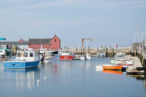 Rockport inner harbour
