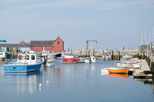 Rockport inner harbour