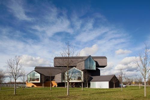 Vitra Haus, Weil am Rhein, Germany. Architect: Herzog & de Meuron. Photo by Fran Parente.
