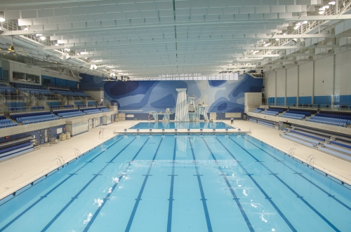Competition pool at the Toronto Pan Am Sports Centre. Photo by Stephanie Calvet.