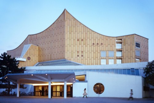 The Berlin Philharmonic, an icon of modernity. Photo by Wim Wenders.
