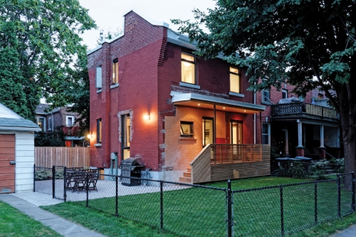 Solares Architecture co-founders Christine Lolley and Tom Knezic gutted a Toronto home and renovated it with Passivhaus principles. Photo by Carla Weinberg