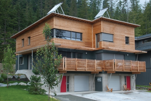 The Rainbow Passive House by Marken Design. Photo by Marken Design + Consulting