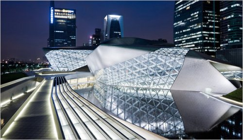 Guangzhou Opera House. Photo by Iwan Baan.