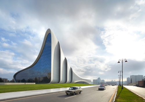 Heydar Aliyev Center, Baku, Azerbaijan. Photo by Hufton+Crow.