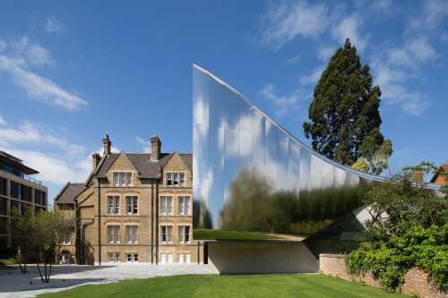 The Investcorp Building, University of Oxford. Photo by Luke Hayes.