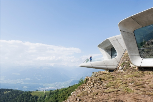 Messner Mountain Museum Corones, South Tyrol, Italy. Photo by Werner Huthmacher.